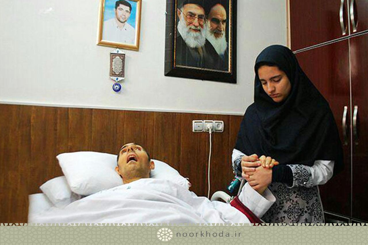 دختر شهید سید نورخدا