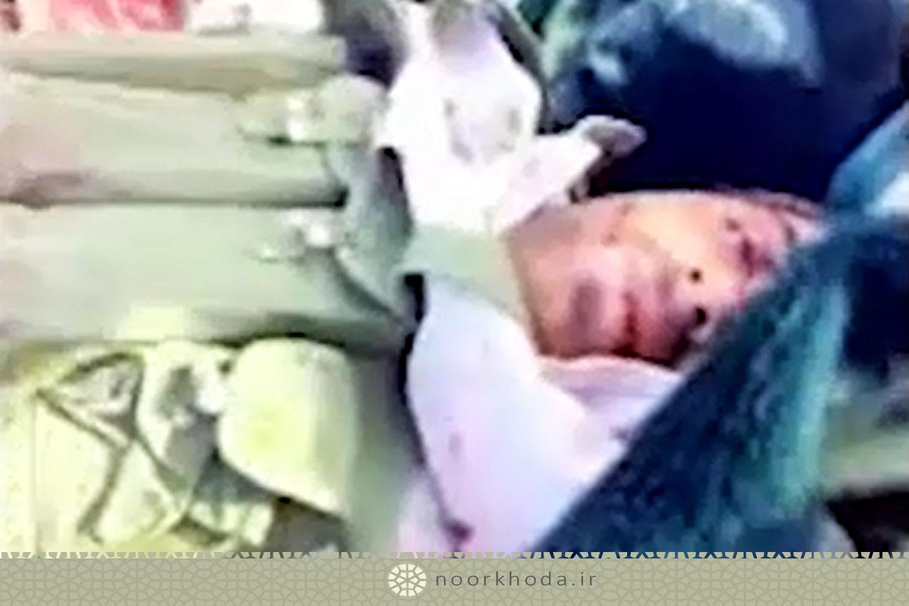 لحظه انتقال بدن مجروح سید نورخدا- پیوست داستان 66